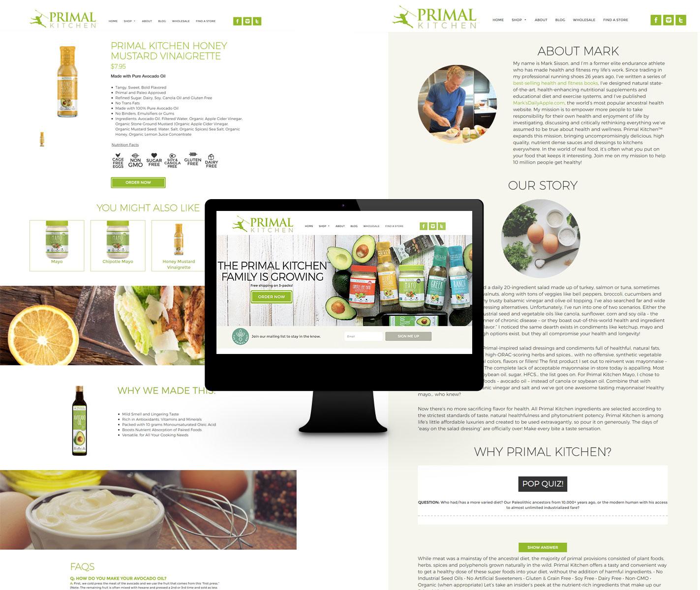 Primal Kitchen - Ajooba- Best web design company